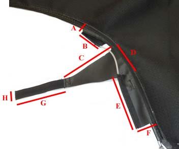 dimensions tissu capote 987 Cotes_11