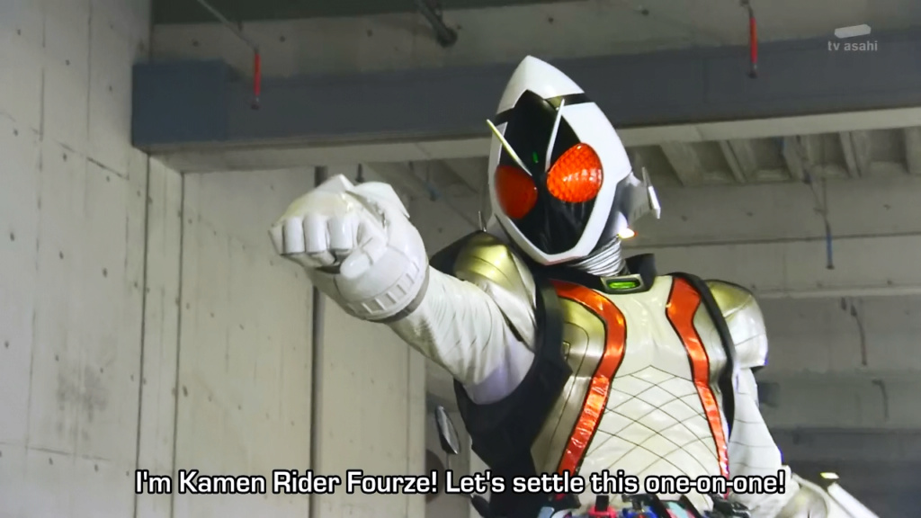 Just some couple scouting their future rivals when... Fourze10