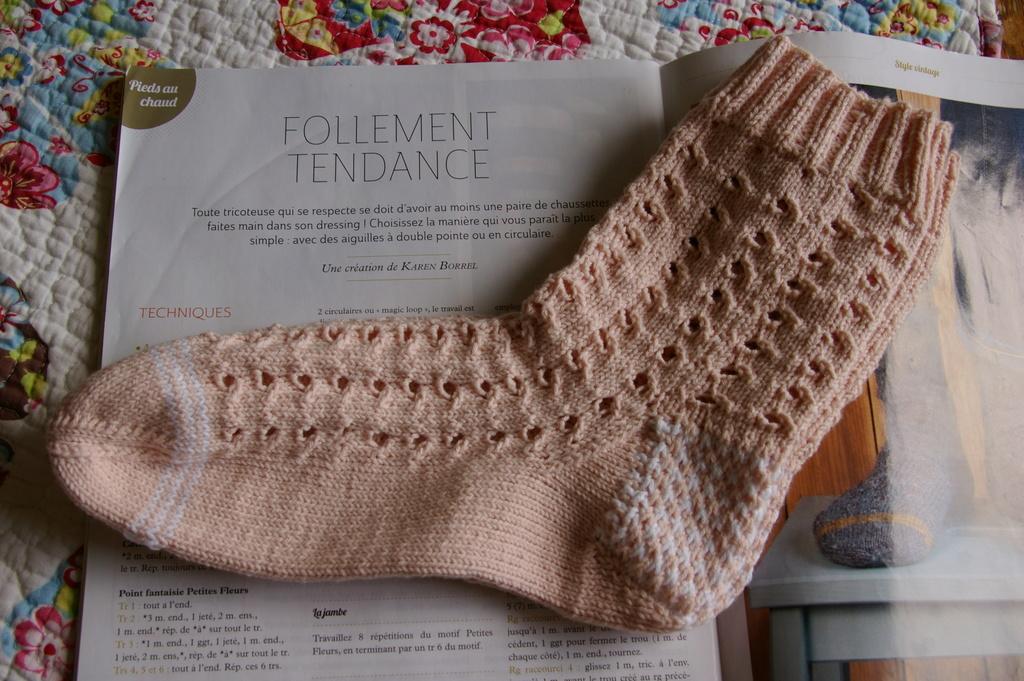 chaussettes en coton ... Imgp9110