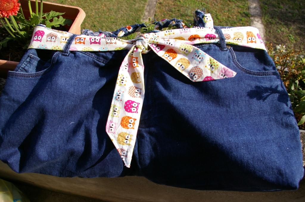 Un sac en jean ... et hiboux !! Imgp9610