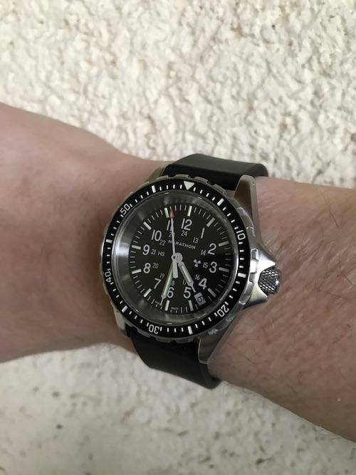 Votre montre du jour - Page 3 Marath10