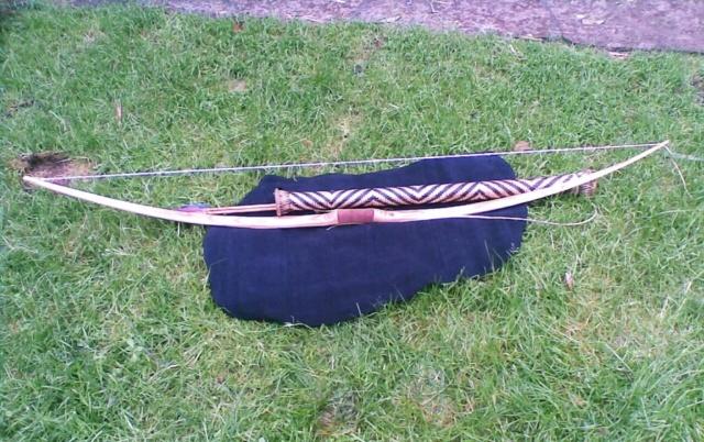 Reparación de arco con pliegues - camisa o parche de pergamino 110