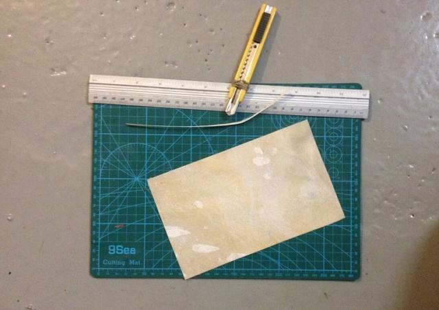 Reparación de arco con pliegues - camisa o parche de pergamino 210