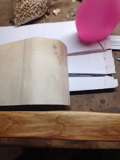 Reparación de arco con pliegues - camisa o parche de pergamino 410