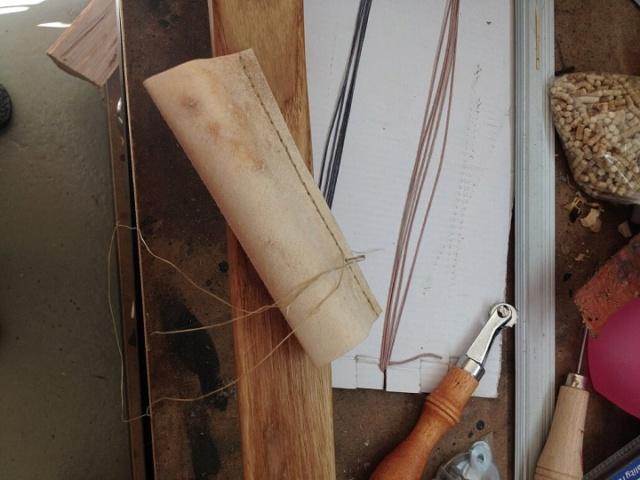 Reparación de arco con pliegues - camisa o parche de pergamino 610