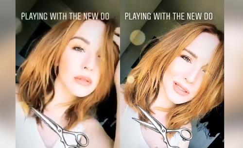 Camryn Grimes сменила имидж. Hair10