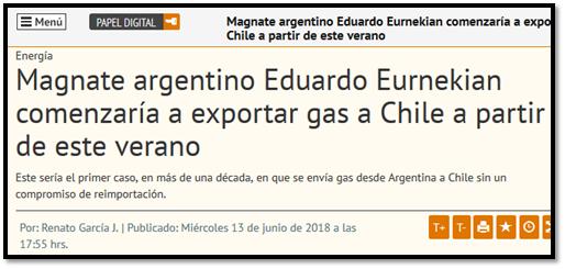 """Exportación de hidrocarburos, tarifazos y el """"libre mercado"""" 110"""
