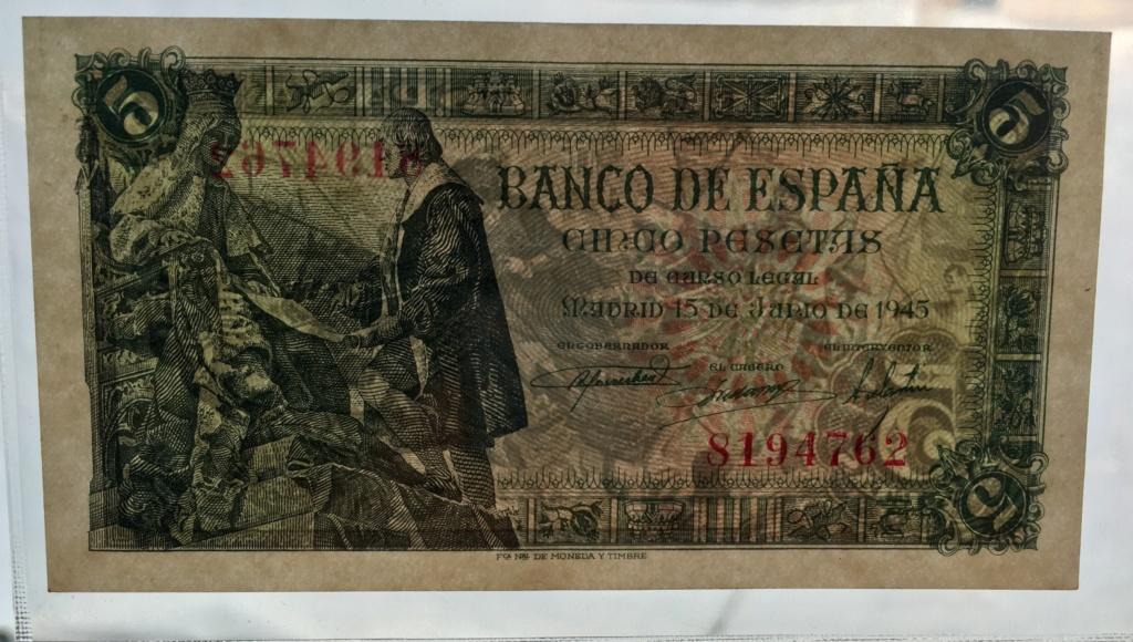 5 Pesetas 15 Junio 1945  (Capitulaciones de Santa Fe) 01bcc210