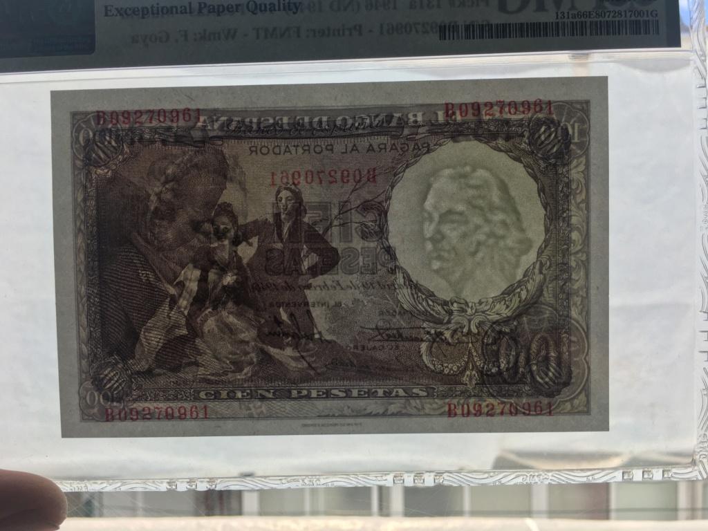 100 Pesetas febrero de 1946  Francisco De Goya 66 EPQ 18e1e910
