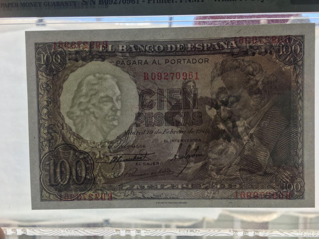 100 Pesetas febrero de 1946  Francisco De Goya 66 EPQ 47884810