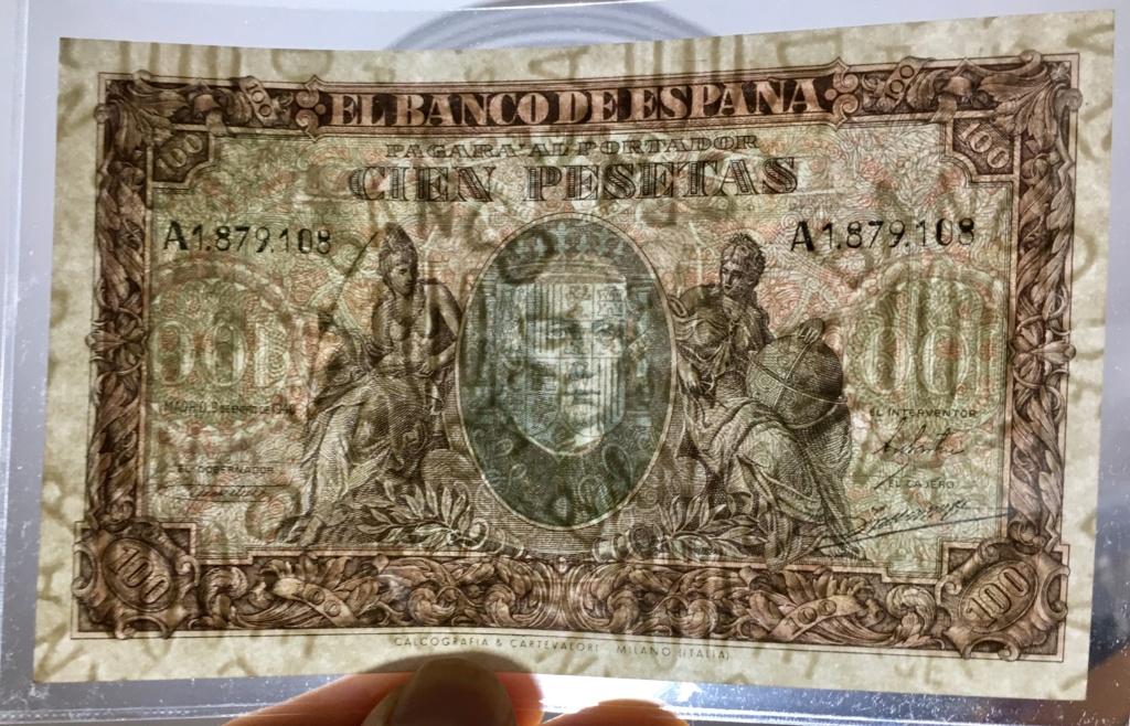 100 pesetas 9 Enero 1940  Colon 5f47f710