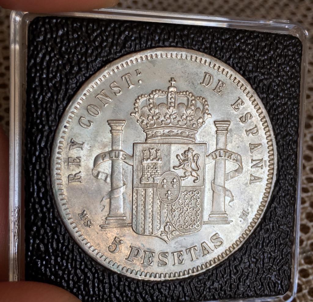 5 Pesetas 1881. Alfonso XII 7ebfcb10