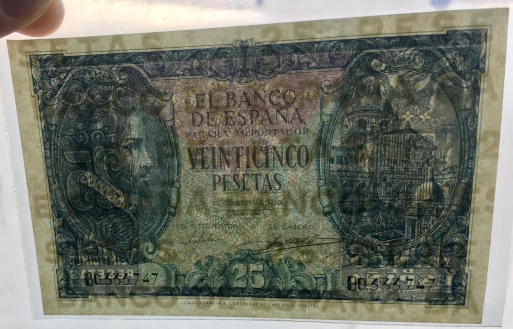 25 Pesetas 9 de Enero de 1940  Juan de Herrera Ae6abd10