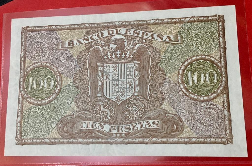 100 pesetas 9 Enero 1940  Colon Fa2f2610