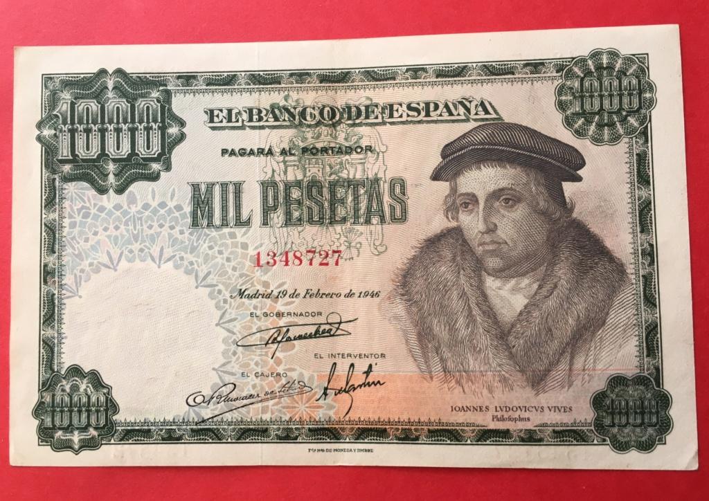 1000 Pesetas 19 Febrero 1946 (Luis Vives) Fe752010