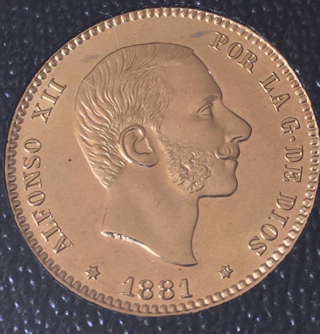 25 Pestas 1881 (*18-*81) Alfonso XII. MSM. Img_5112