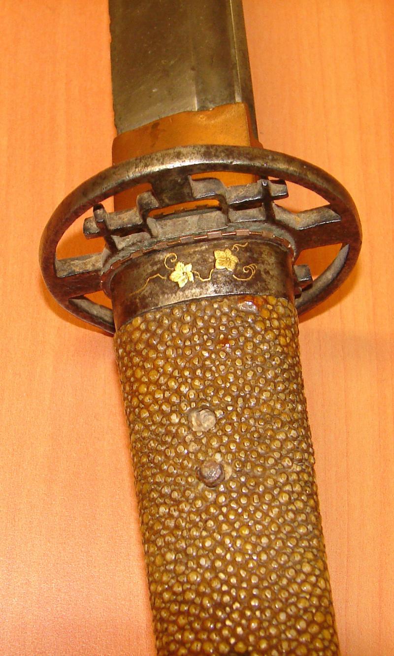 Demande d'identification d'un sabre japonais. Katana11