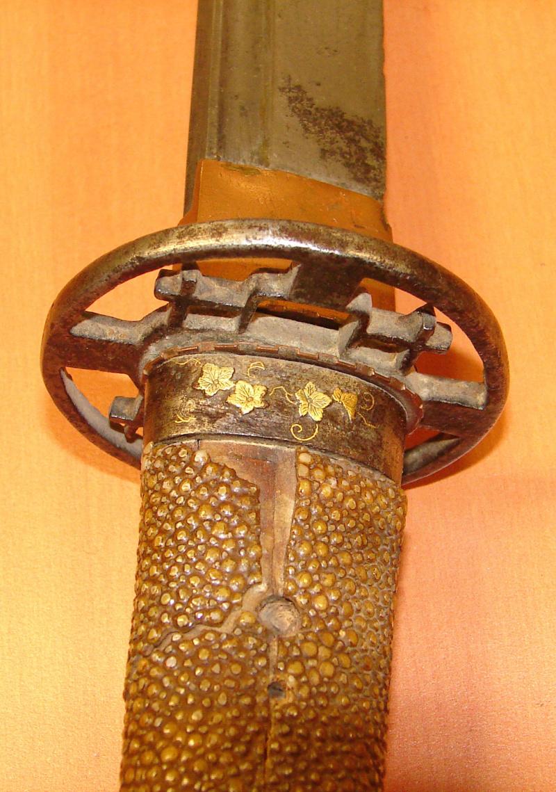 Demande d'identification d'un sabre japonais. Katana12