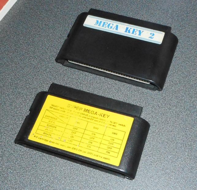 Super Mega Key - Megadrive Dscn2412