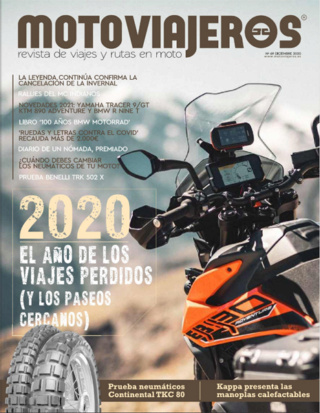 REVISTA MOTOVIAJEROS  2020   DICIEMBRE Motovi10
