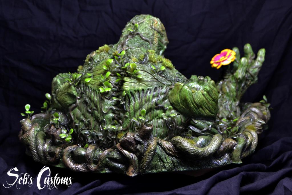 Buste Swampthing 1/3 Dsc_0028