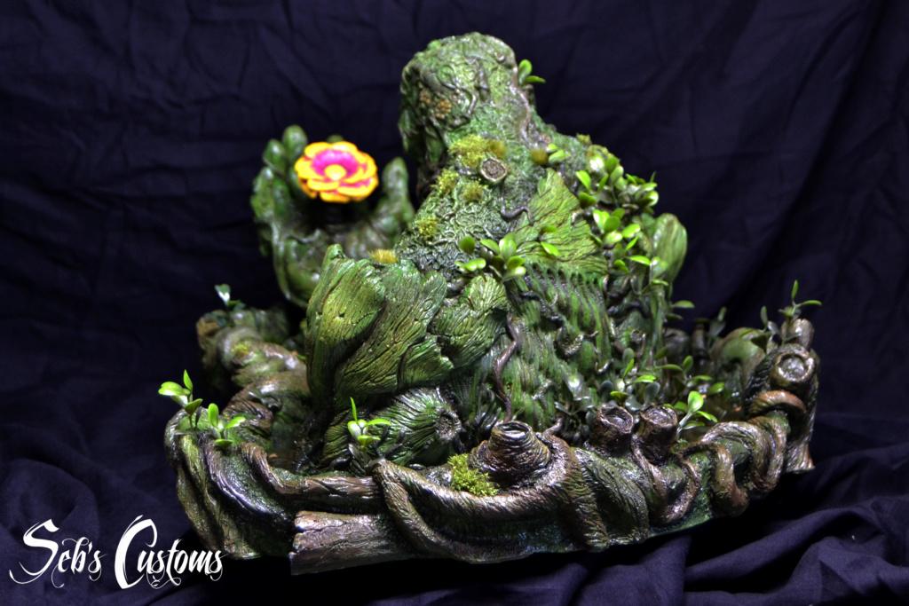 Buste Swampthing 1/3 Dsc_0030