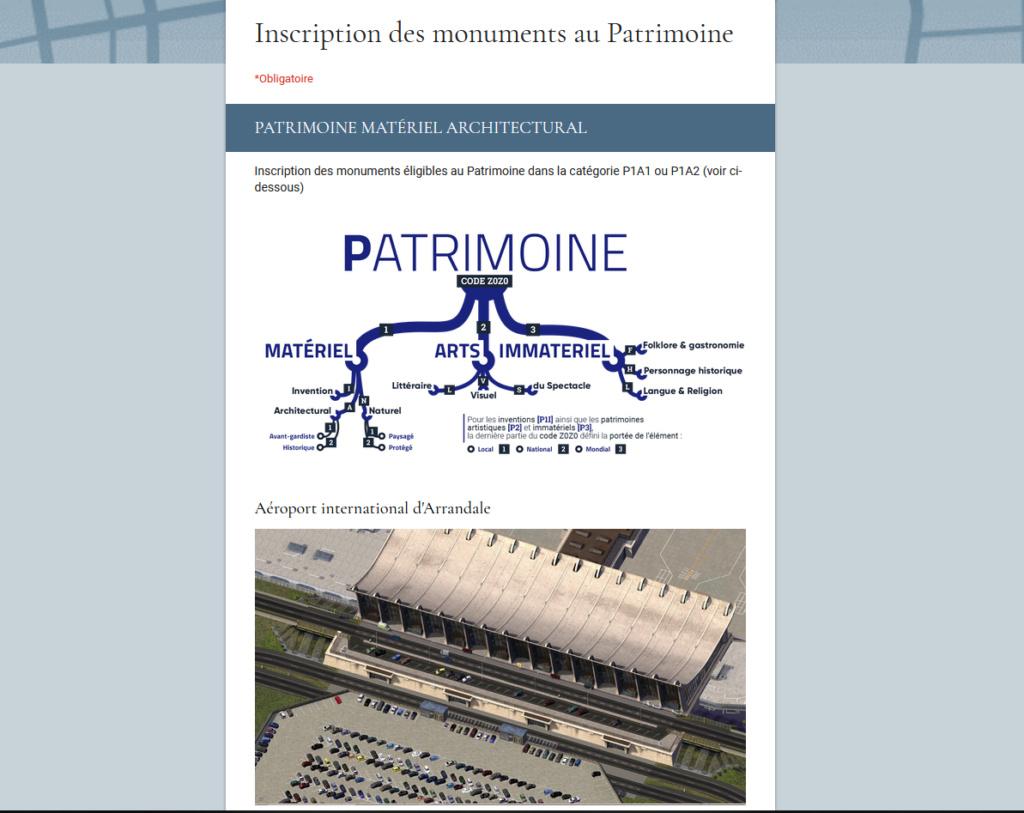 Annonces du Comité de Culture et du Patrimoine (Nominations et reprise page 8 !) - Page 9 P211