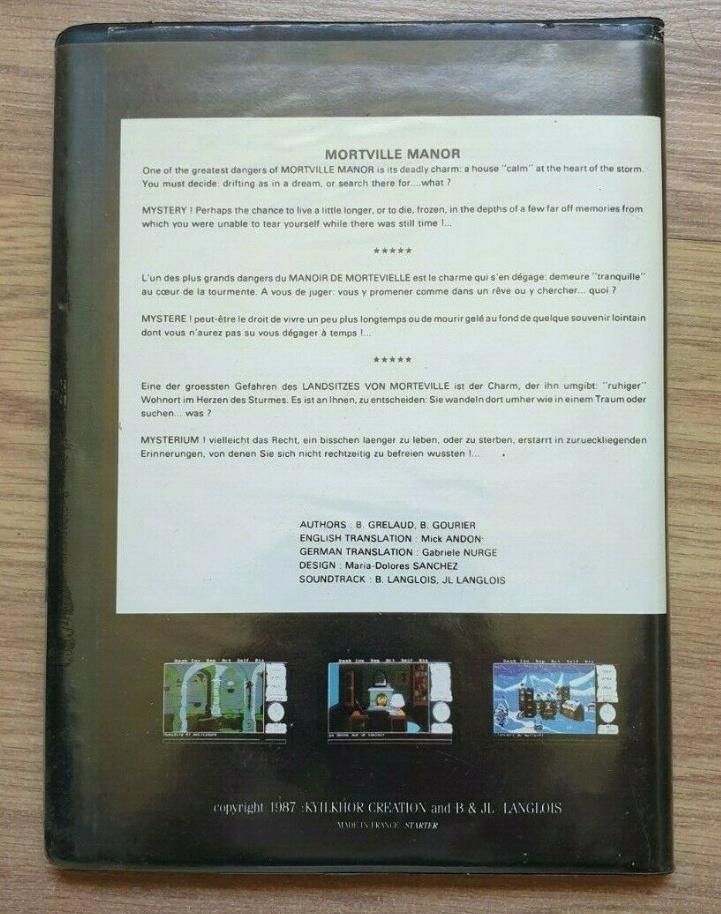 [ESTIM] Mortville Manor Atari ST Captur12