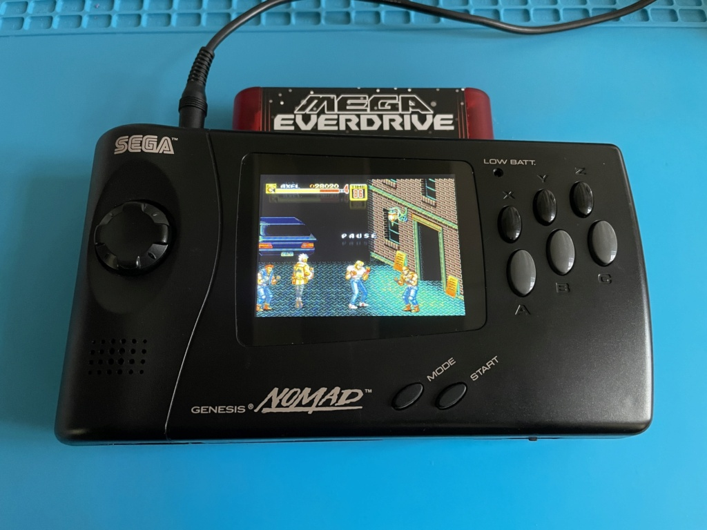 Mod LCD RGB Sega NOMAD - Page 2 Img_0721