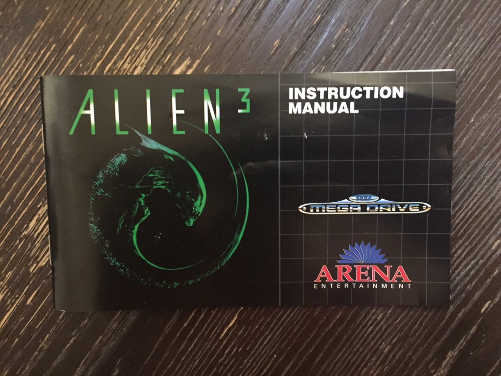 Version Alien 3 Megadrive Img_4516