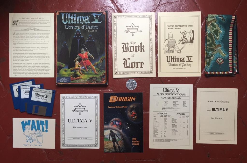[ESTIM] Ultima V Warriors of Destiny sur Atari ST Ultima10