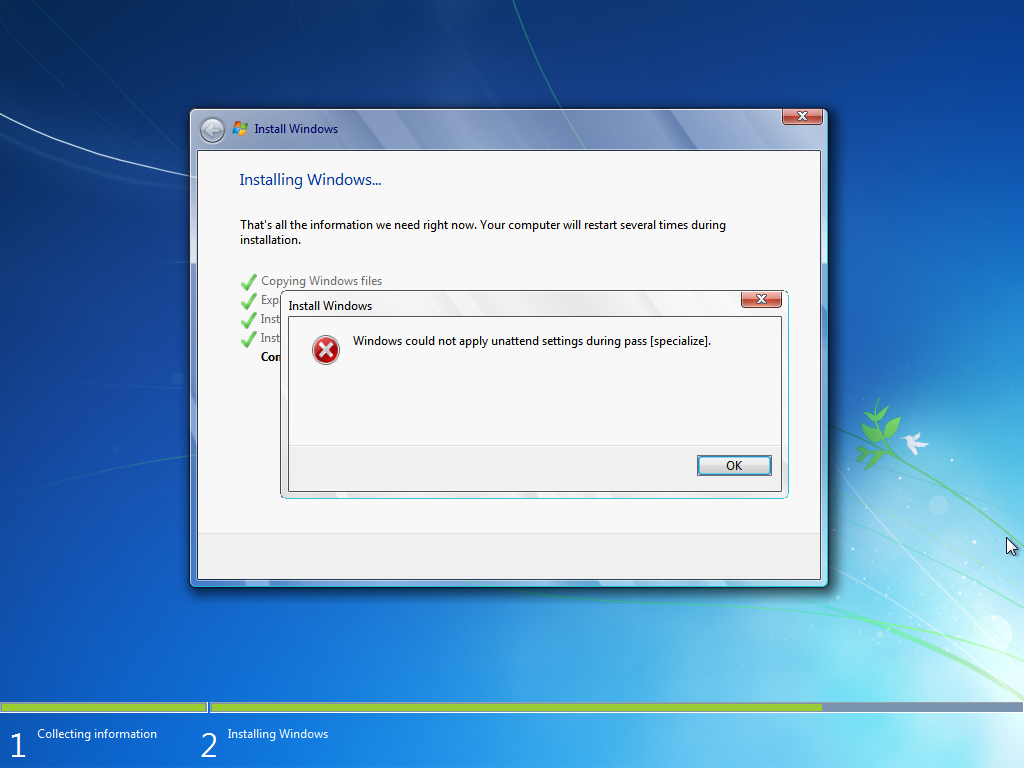 [SOLVED] Windows could not apply unattend setting during pass [specialize] Virtua11