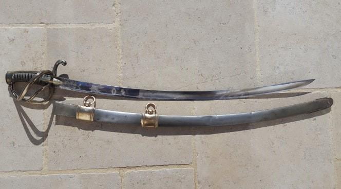 Sabre de Cavalerie Légère à la Chasseur  71490310