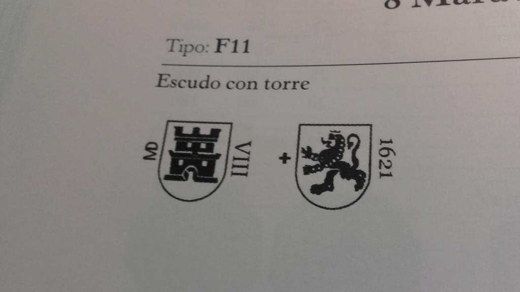 8 Maravedís de Madrid resellados. Tipo_110