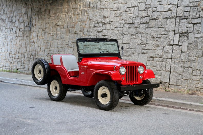 1965 Willys Jeep cj5 1959-w10