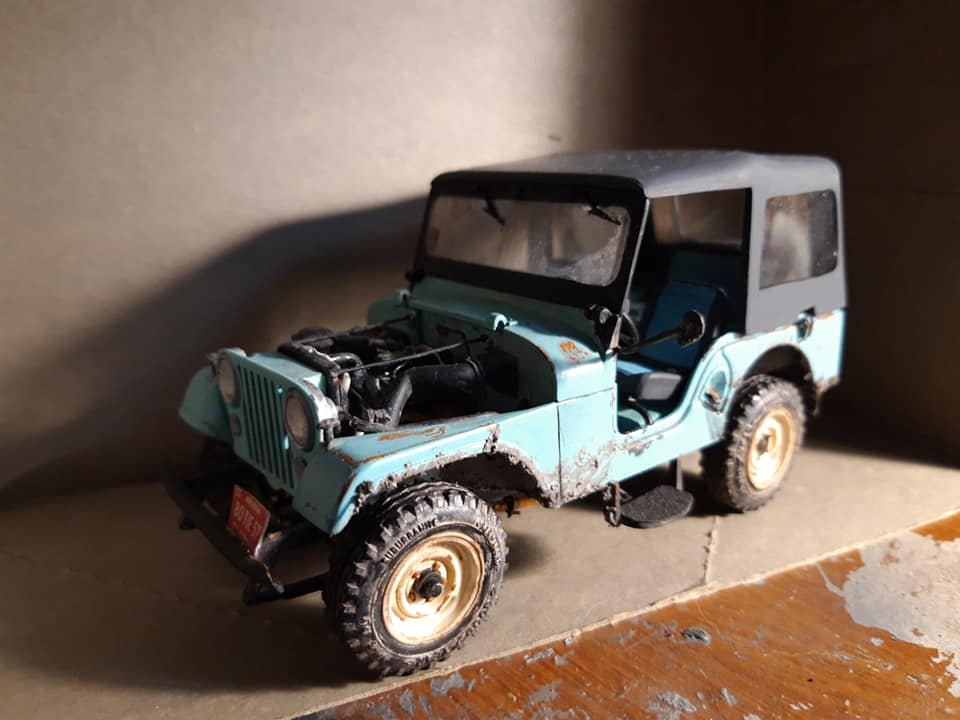 1965 Willys Jeep cj5 [TERMINE] - Page 2 74344710