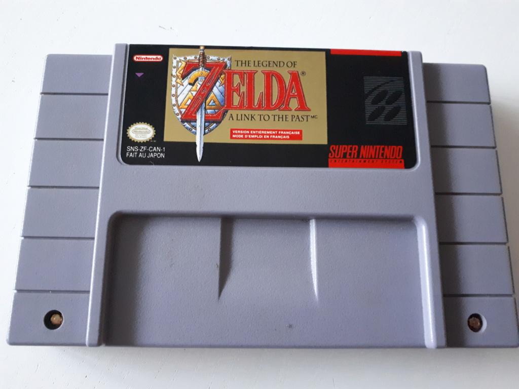 [ESTIM] Cartouche Zelda SNES ALTTP SNS-ZF-CAN-1 20180817