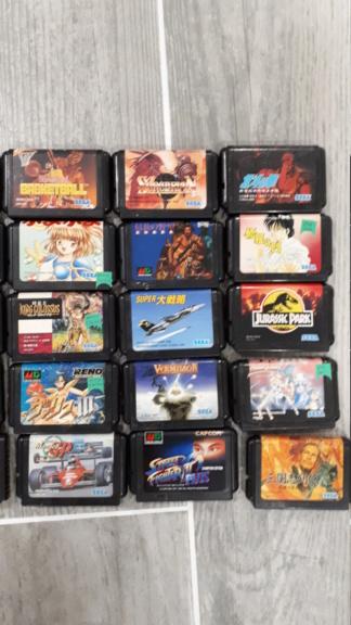 [Vendu] Lot de 29 jeux en LOOSE Megadrive Jap  20200543