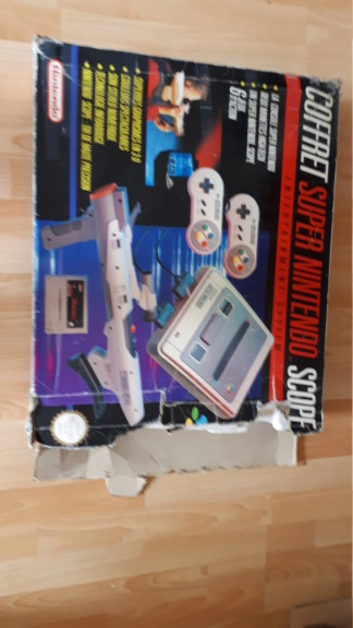 [Vendu] Pack Super Nintendo Coffret Scope 20200667