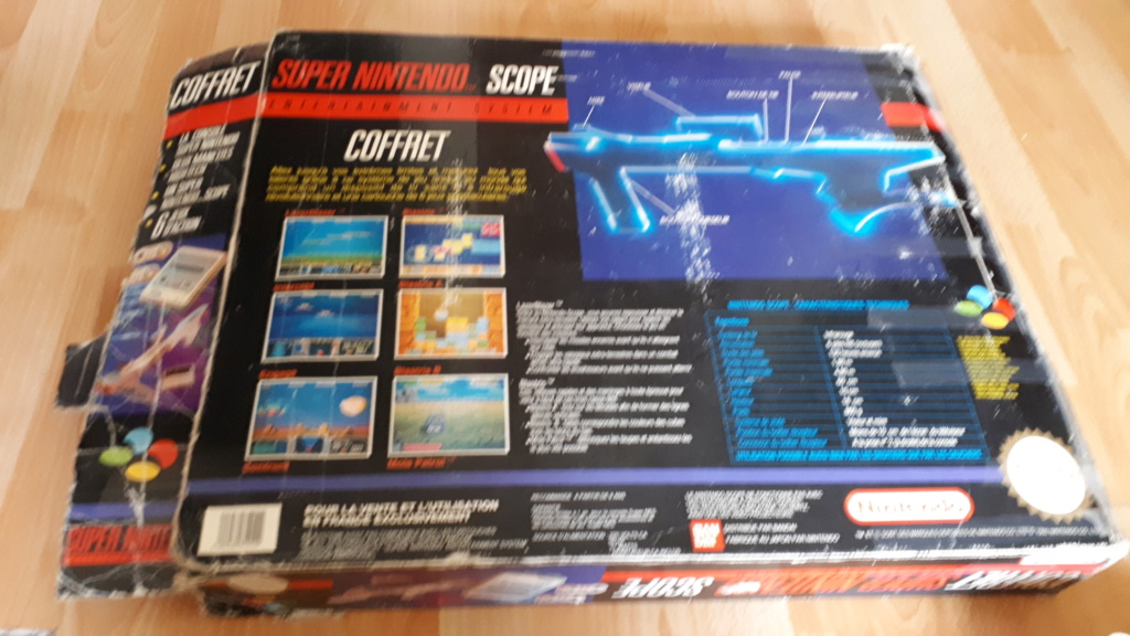[Vendu] Pack Super Nintendo Coffret Scope 20200672