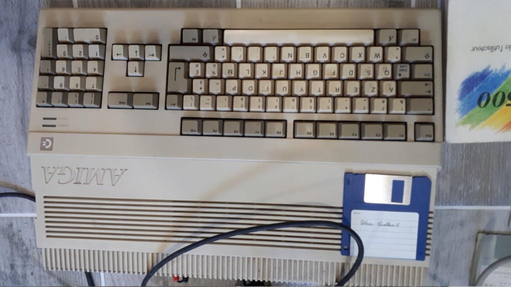 [Vendu] Amiga 500 fonctionnel  20200724