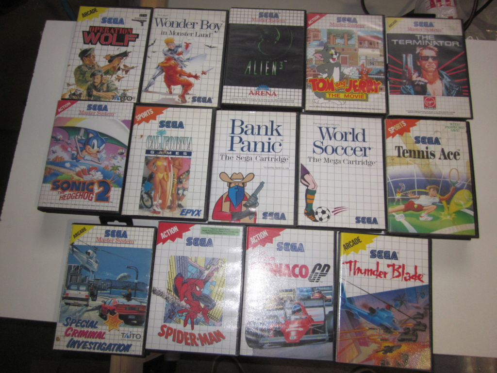 Délottage des jeux Brocante de la Terre du Milieu, MD, MS, GC, DS, Vieux magazines Micros Atari... Img_3515