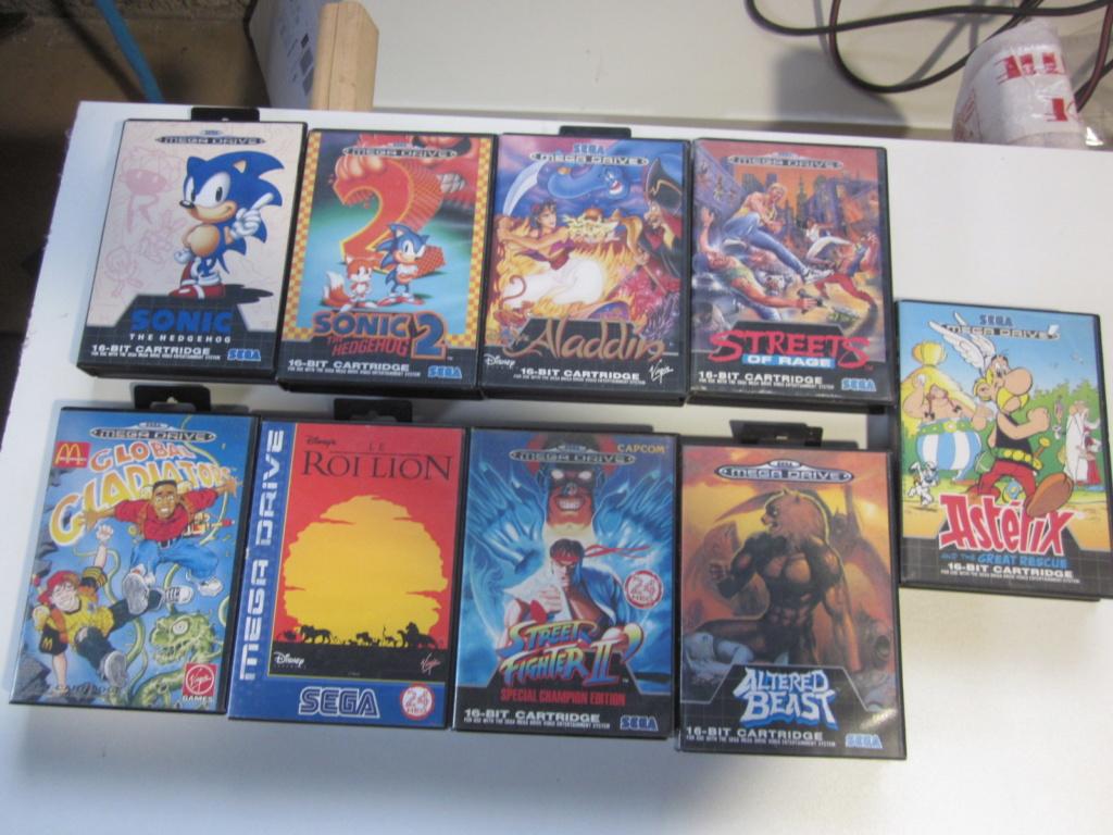 Délottage des jeux Brocante de la Terre du Milieu, MD, MS, GC, DS, Vieux magazines Micros Atari... Img_3517
