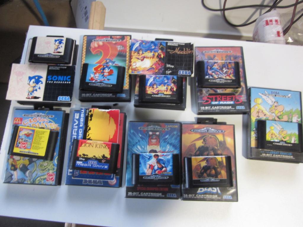 Délottage des jeux Brocante de la Terre du Milieu, MD, MS, GC, DS, Vieux magazines Micros Atari... Img_3518