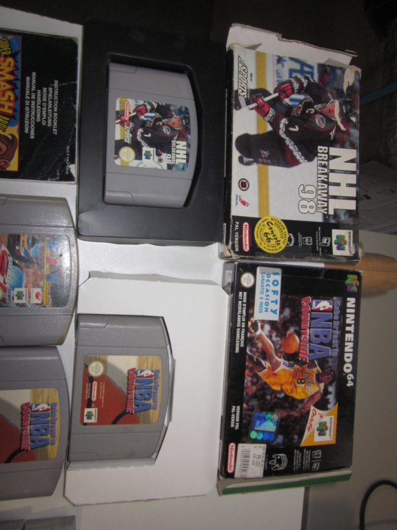 Délottage des jeux Brocante de la Terre du Milieu, MD, MS, GC, DS, Vieux magazines Micros Atari... Img_3522
