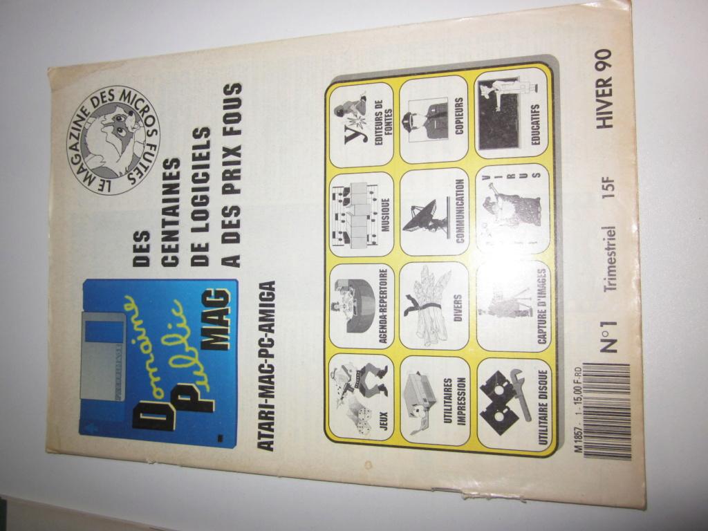 Délottage des jeux Brocante de la Terre du Milieu, MD, MS, GC, DS, Vieux magazines Micros Atari... Img_3532