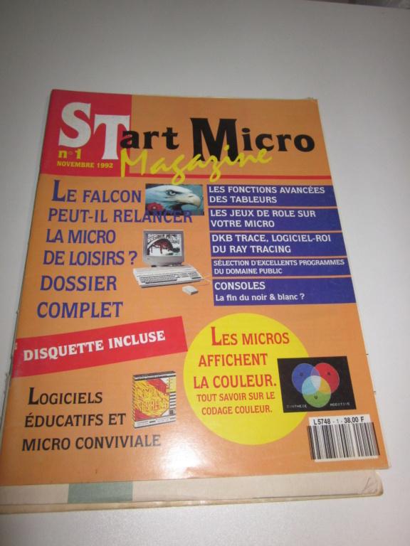 Délottage des jeux Brocante de la Terre du Milieu, MD, MS, GC, DS, Vieux magazines Micros Atari... Img_3533
