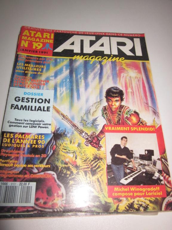 Délottage des jeux Brocante de la Terre du Milieu, MD, MS, GC, DS, Vieux magazines Micros Atari... Img_3536
