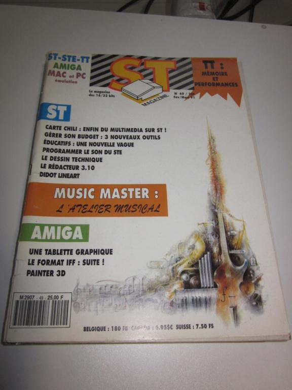 Délottage des jeux Brocante de la Terre du Milieu, MD, MS, GC, DS, Vieux magazines Micros Atari... Img_3610