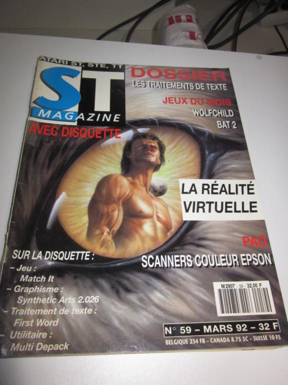 Délottage des jeux Brocante de la Terre du Milieu, MD, MS, GC, DS, Vieux magazines Micros Atari... Img_3612